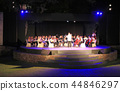 Blurred of Artists symphony orchestra at night 44846297