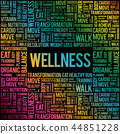 word, wellness, cloud 44851228