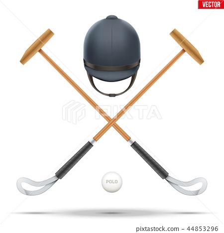 polo game symbol 44853296