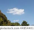 blue sky, blue, White Clouds 44854401