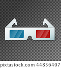 Side view of a pair of 3D glasses 44856407