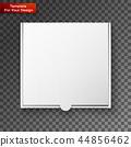 box blank white 44856462