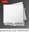 box white pizza 44856466