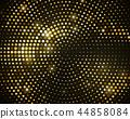 gold halftone black 44858084