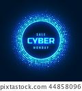 cyber, neon, glowing 44858096