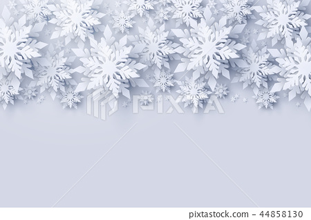 Vector Christmas and Happy New Year background 44858130