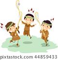 Stickman Kids American Indian Lacrosse 44859433