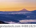 나가노 현 高봇찌山 새벽 풍경 44861829