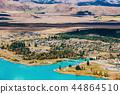 特卡波 山峰 湖泊 44864510