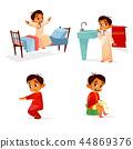 routine boy activity 44869376
