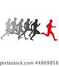 runner, set, vector 44869858