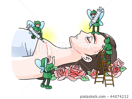 Vector - Lookism, appearance-oriented society concept cartoon illustration. 009 44874212