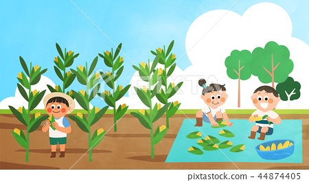 Various activities for children during summer vacation vector illustration 008 44874405