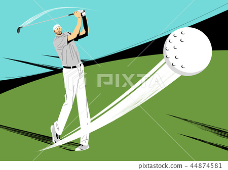 Various sports players with dynamic colorful scratched vector illustration 018 44874581
