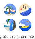 Summer Holiday Icon Set 44875169