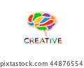 brain vector creative 44876554