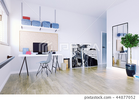 home office interior 44877052