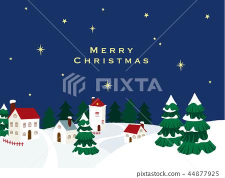聖誕節鎮例證 44877925
