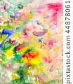 Watercolors stains and flowing paints 44878061