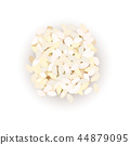 arborio rice grains. Vector illustration.  44879095