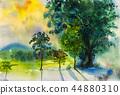 水彩畫 水彩 繪畫 44880310