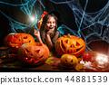 child halloween girl 44881539
