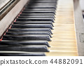 Close up of a piano keyboard 44882091