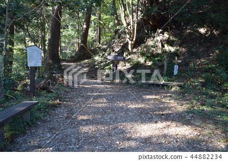 Hachioji Castle fence gate trace 44882234
