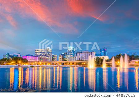 Orlando, Florida, USA Skyline 44887615