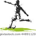 soccer, player, football 44891120