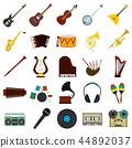 뮤지컬, 악기, 아이콘 44892037