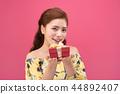 年輕的女人,女人,女人,禮物 44892407