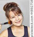化妆 制作 女人 44892758