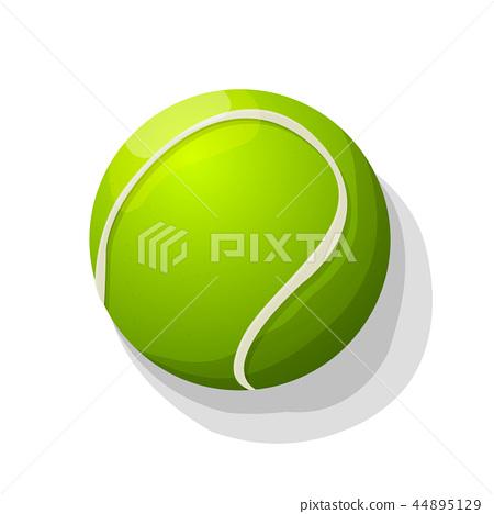 Vector tennis ball 44895129