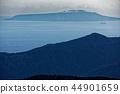 从箱根和Meijingatake看到的伊豆大岛 44901659