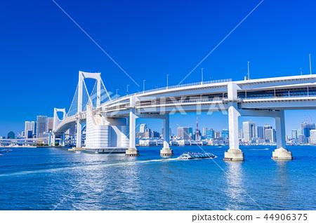 從東京Daiba公園的彩虹橋 44906375