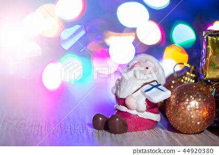 聖誕節 裝飾 裝飾品 聖誕樹 光暈背景 クリスマス 暈け gingerbread sparkle  44920380