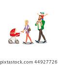 family, son, walk 44927726