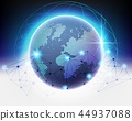 Global Cloud computing network concept 44937088