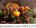 Autumn festive symbols in a box 44941159