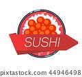 sushi menu vector 44946498
