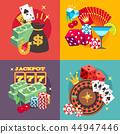 gambling, casino, poker 44947446