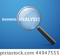 business, analysis, glass 44947555