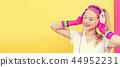 woman, music, listen 44952231
