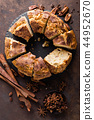 Bundt cake with cinnamon and nuts 44952670