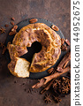 Bundt cake with cinnamon and nuts 44952675