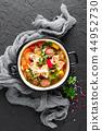 soup vegetable meatballs 44952730