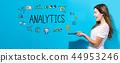 analysis, analyze, woman 44953246