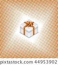 vector, icon, gift 44953902