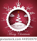 christmas, vector, decoration 44956970